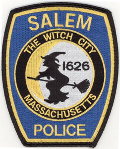 SALEM POLICE OFFICIAL UNIFORM PATCH