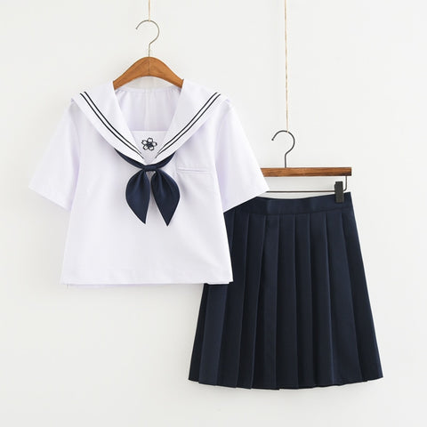 Sakura Japanese High School Uniform - Navy Blue