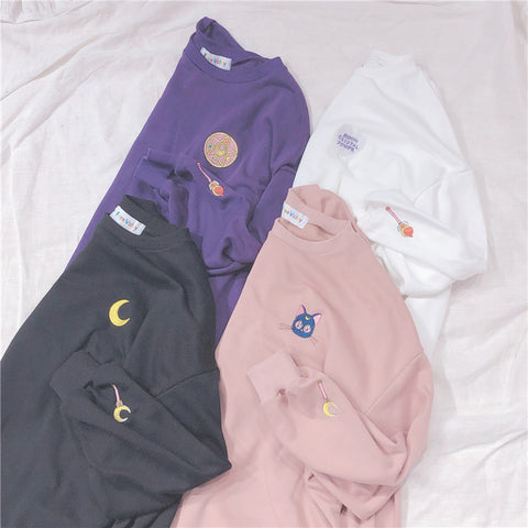 HARAJUKU SAILOR MOON SWEATSHIRT