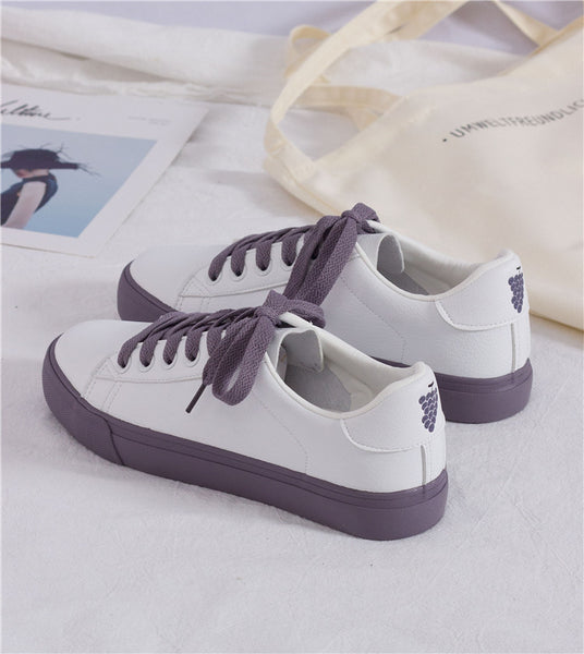 Harajuku Pastel Fruit Sneakers (3 Colors)