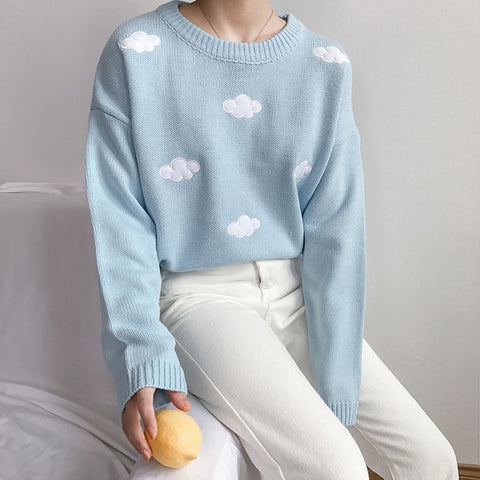 HARAJUKU CLOUD KNIT SWEATER