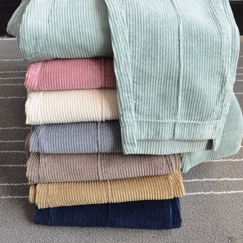 Essential Harajuku Pastel Corduroy Pants (6 Colors)