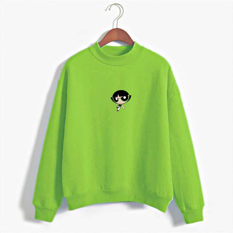 Harajuku Powerpuff Girls Sweatshirt