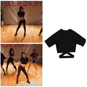 Blackpink Jennie Dance Practice Style T-shirt