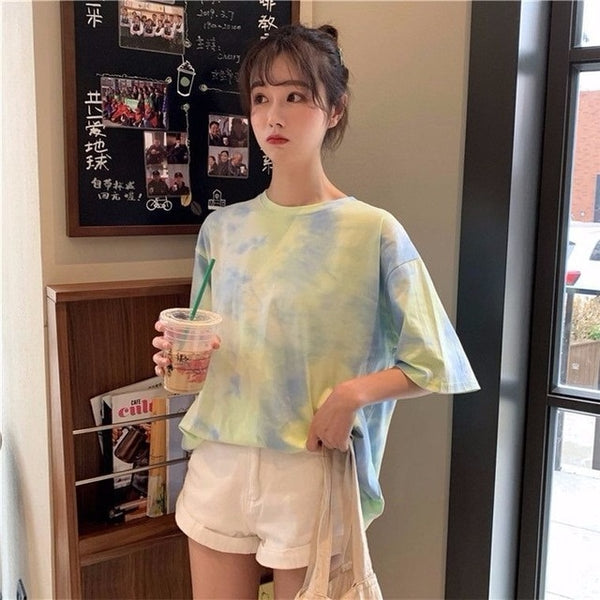 Harajuku Oversized Tie Dye T-shirt (5 Colors)