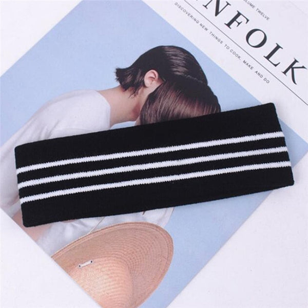 K-pop BTS Style Stripe Sweet Headband