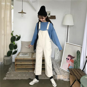 Harajuku Style Kawaii Fashion Overalls (3 Colors)
