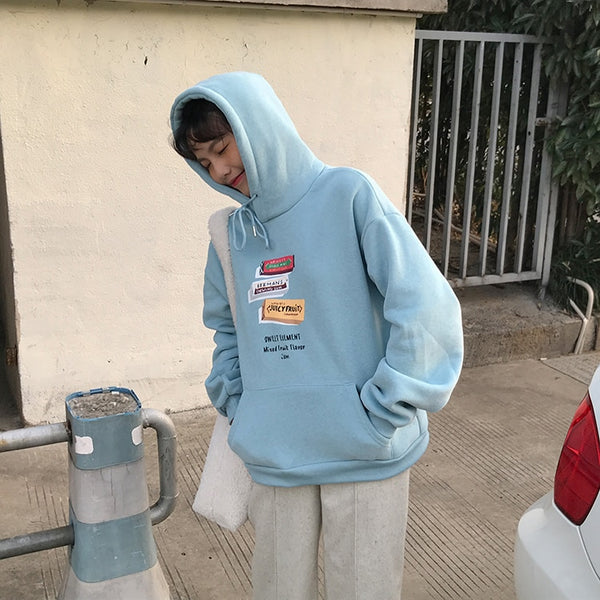Harajuku Sweet Element Hoodie (4 Colors)