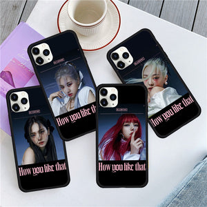 Blackpink How You Like That Iphone Case (Black)