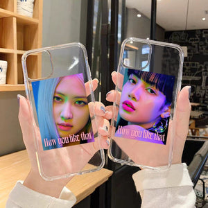 BLACKPINK HOW YOU LIKE THAT IPHONE CASE (CLEAR)