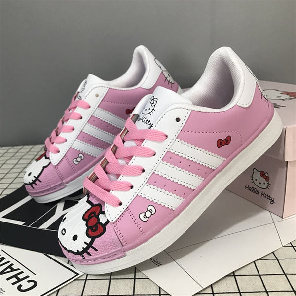 Harajuku Kawaii Fashion Hello Kitty Sneakers