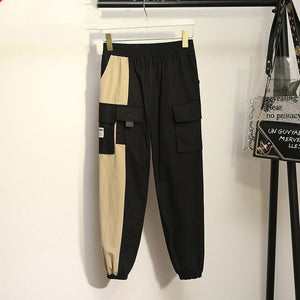 Plus Size Harajuku Korean K-pop Blackpink Style Cargo Pants