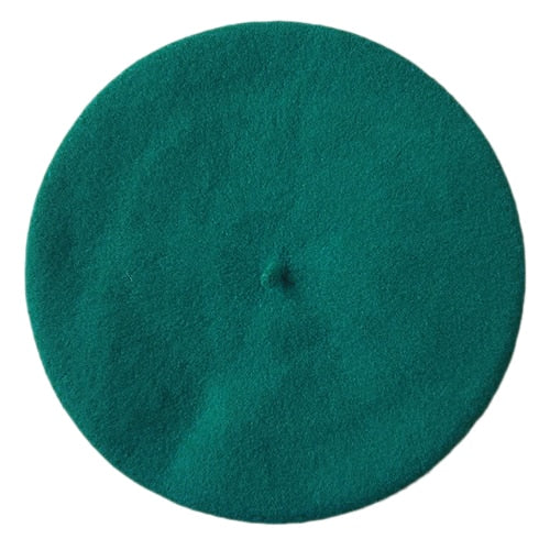 Harajuku Plain Color Beret (12 Colors)