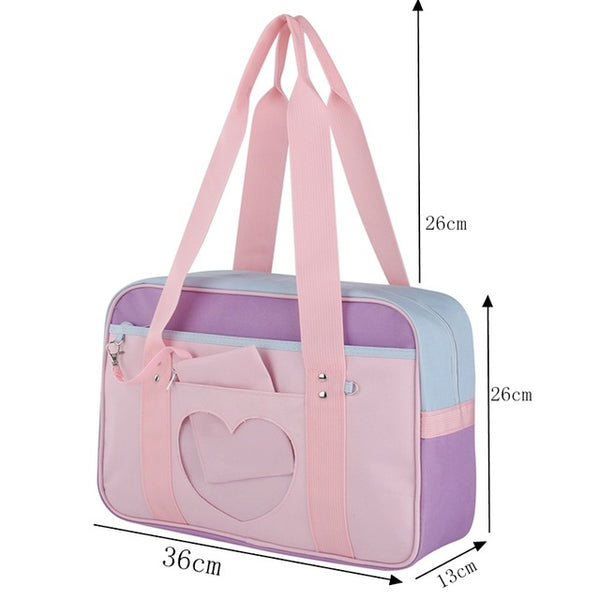 HARAJUKU PASTEL SCHOOL GYM BAG
