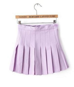 Pastel Purple Tennis Skirt