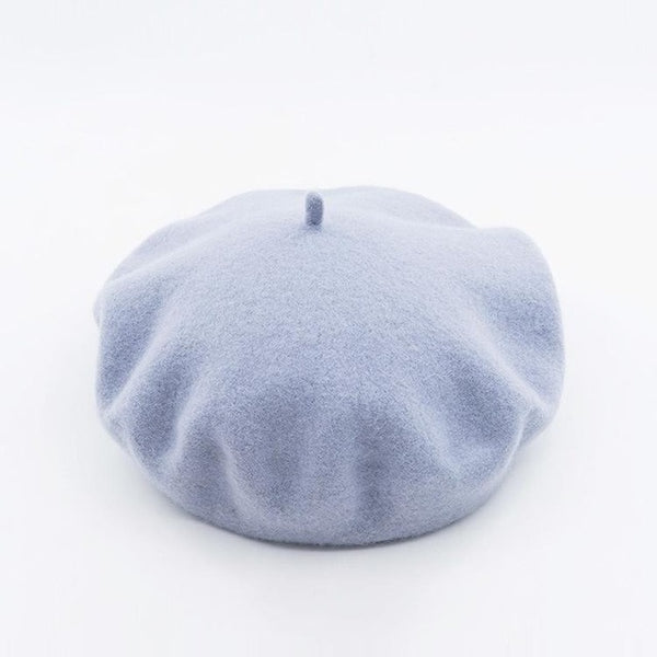 Pastel Color Beret (11 Colors)