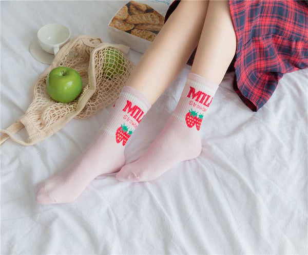 Milk Series Ankle Socks