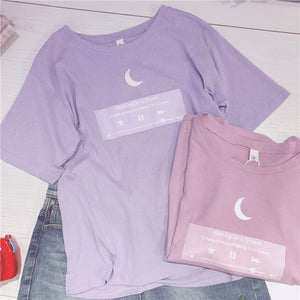 Pastel Moon Dream Tshirt