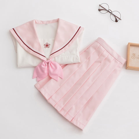 Sakura Japanese High School Uniform - Pink