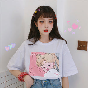 HARAJUKU SAILOR MOON LOVE TSHIRT