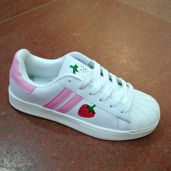 HARAJUKU STRAWBERRY SNEAKERS (4 COLORS)