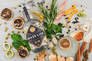 Brass Lion Singapore Dry Gin