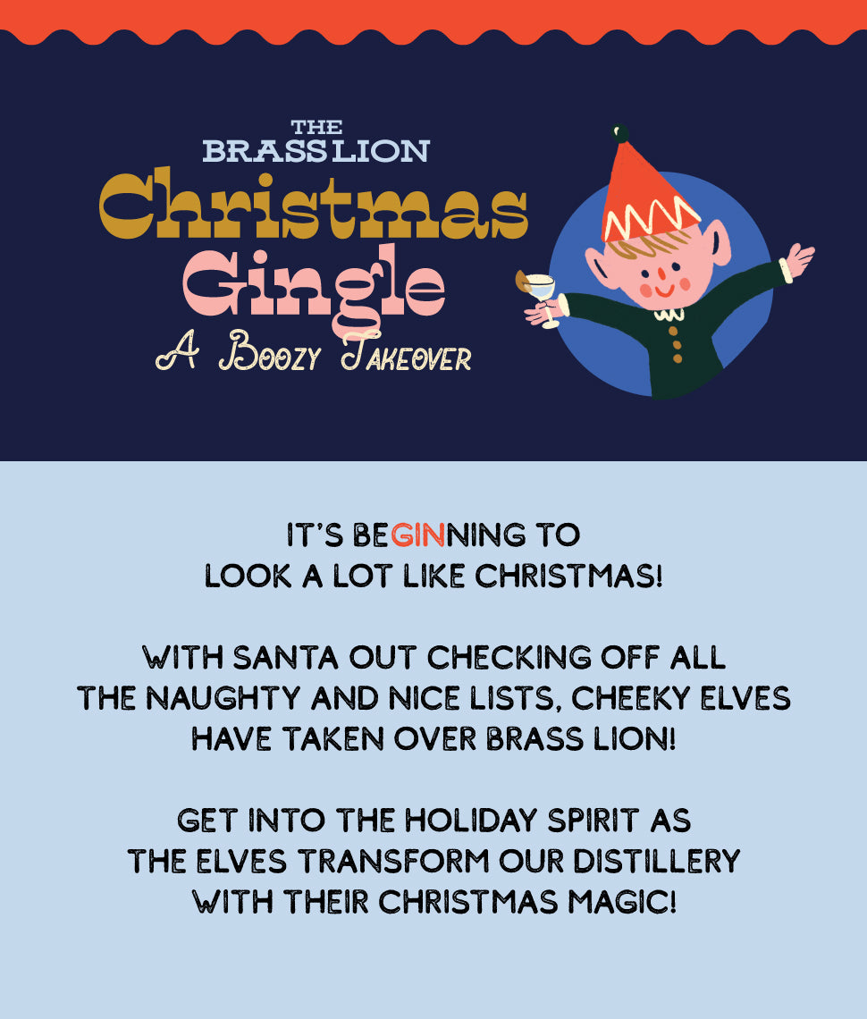 Brass Lion Christmas Gingle - A Boozy Takeover