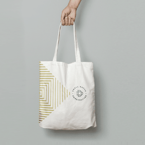 Brass Lion Tote Bag