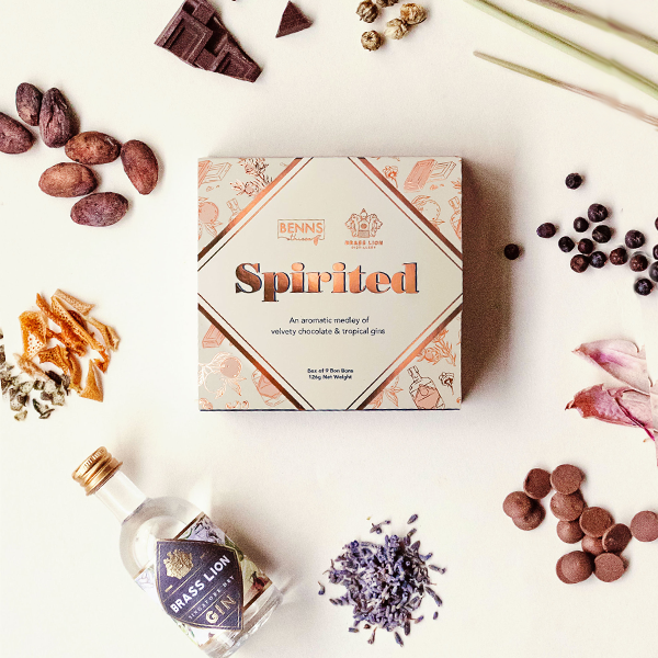 Spirited Bon Bons SG Dry Milk Chocolate