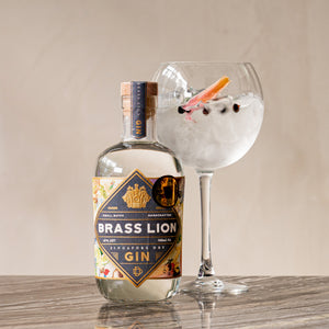 Brass Lion Gin and Tonic