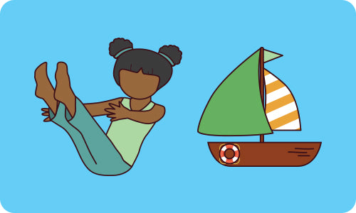 Yoga Poses For Kids Boat Pose Flow And Grow Kids Yoga