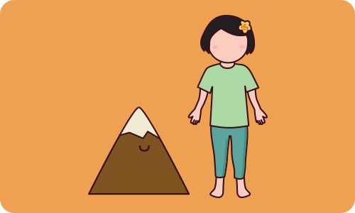 Yoga Pose for Kids: Mountain Pose