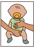 Diaper Hold for babies