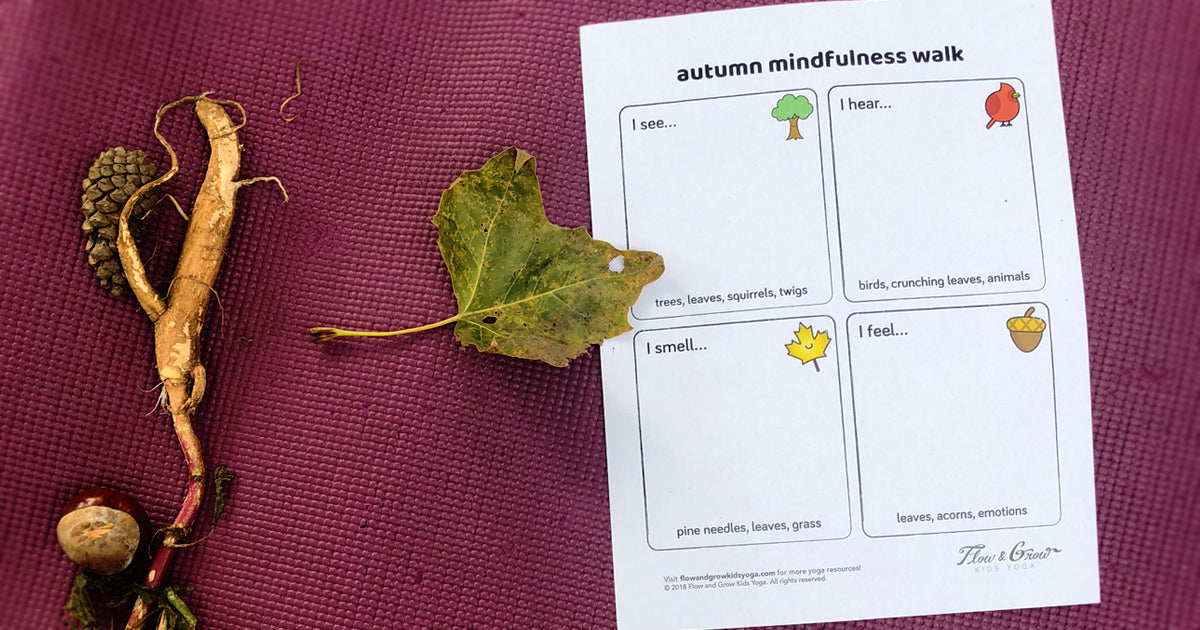 Autumn Mindfulness Walk