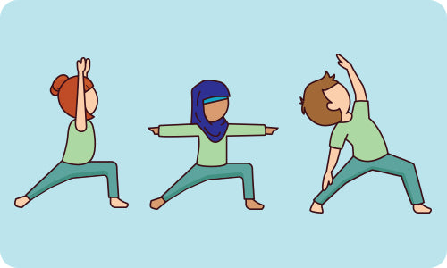 Yoga Poses For Kids Dancing Warriors Flow How To Poses Flow And Grow Kids Yoga