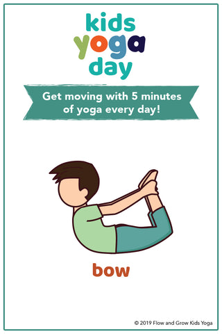 Bow Pose for Kids