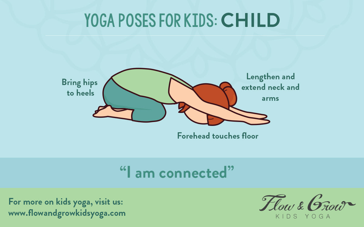 Yoga Poses for Kids: Child's Pose