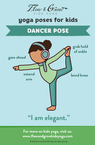 Yoga Poses for Kids: Dancer Pose