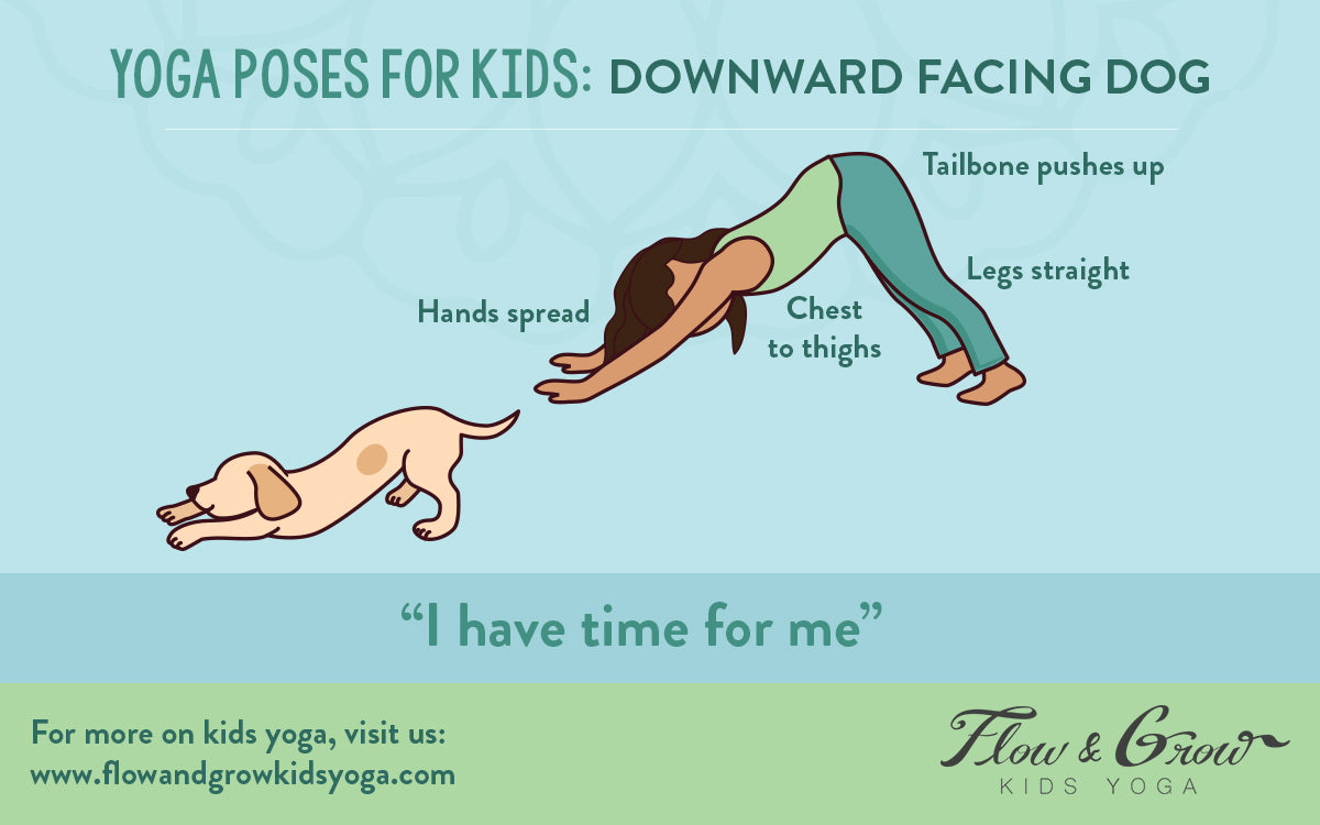 Yoga Poses for Kids: Downward Dog