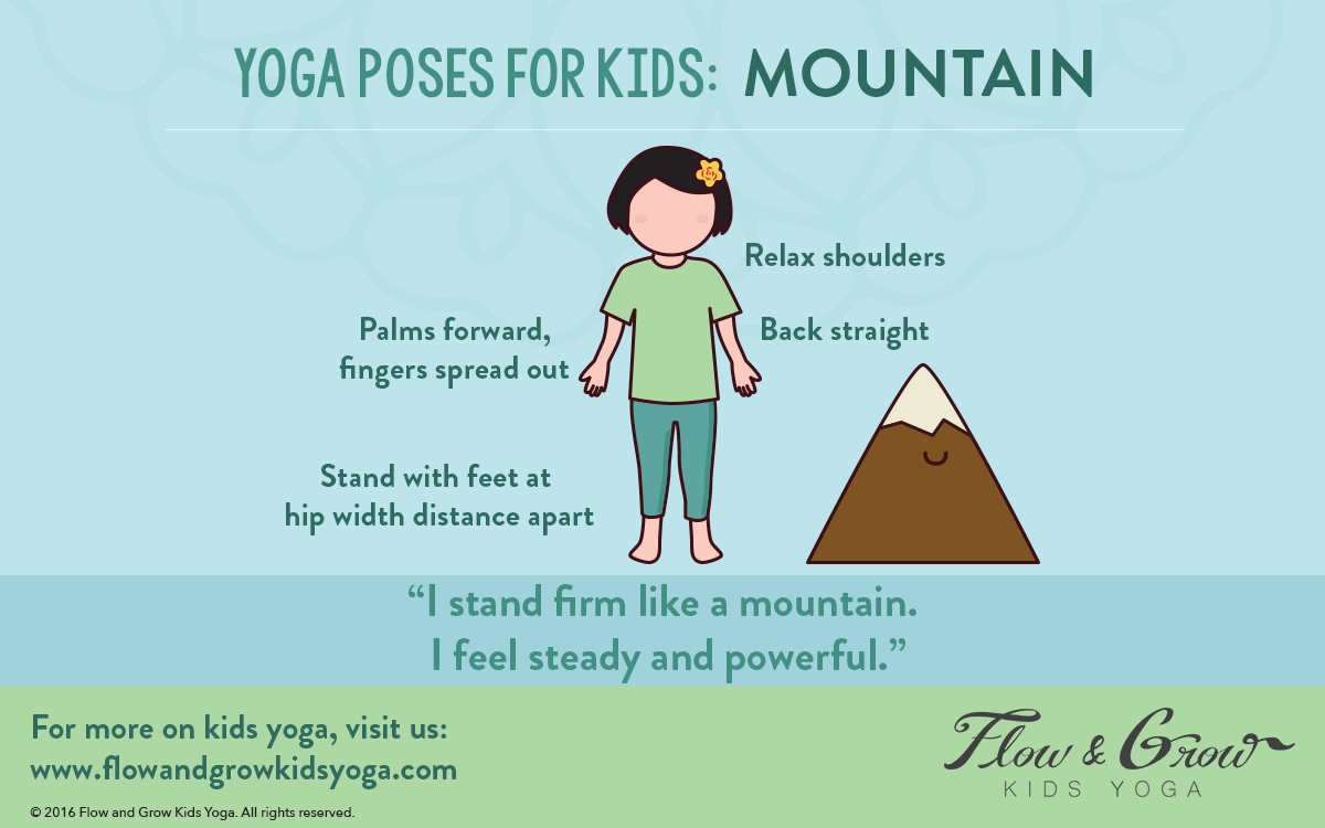 Yoga Poses for Kids: Mountain