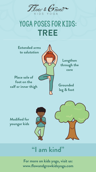Yoga Poses for Kids: Tree