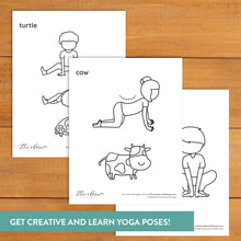 Load image into Gallery viewer, Animal Adventure Yoga Cards
