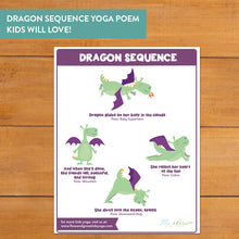Load image into Gallery viewer, Dragon Yoga Cards