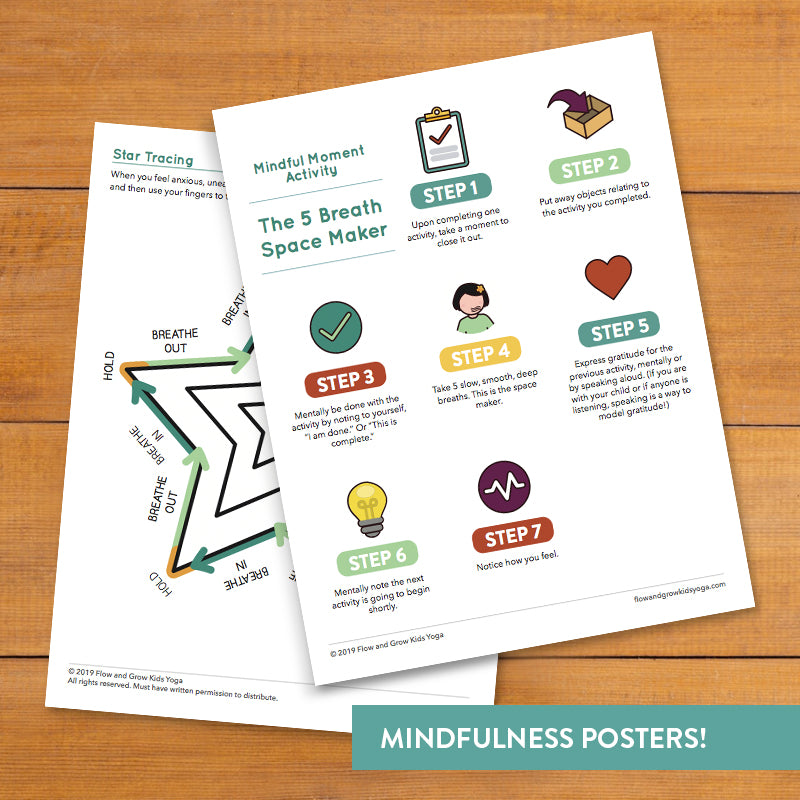 Mindful Moments Printable Cards