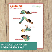 Load image into Gallery viewer, Time for Me: Calming Yoga Cards