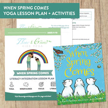"Load image into Gallery viewer, ""When Spring Comes"" Literacy Integration Lesson Plan"