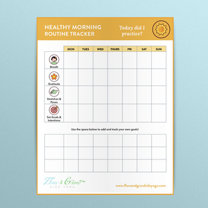Healthy Morning Routine Tracker
