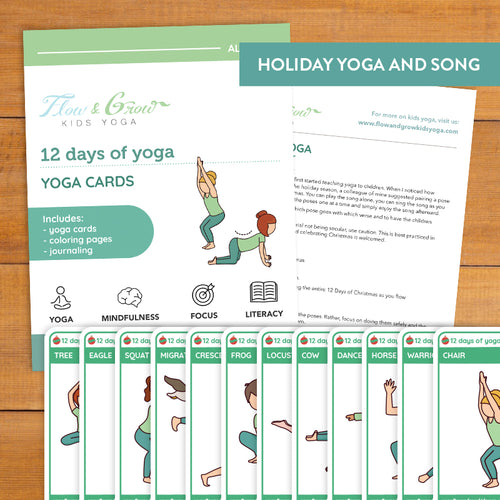 12 Days of Yoga Cards
