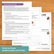 Load image into Gallery viewer, Autumn Sequence Yoga Cards and Lesson Plans