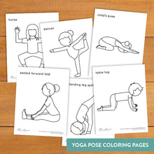 Load image into Gallery viewer, Gratitude Yoga Coloring Pages